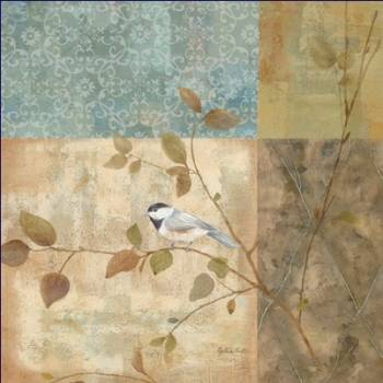 Chickadee Collage II